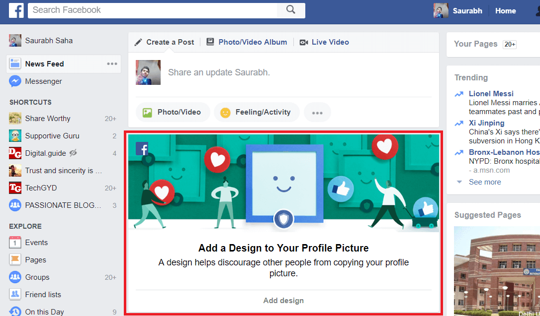 How to Activate Facebook Profile Picture Guard [2017] - 3 Steps