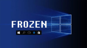 windows 10 taskbar freezes
