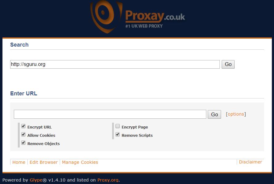 Proxay Web Proxy