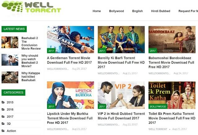 top bollywood movie torrent download sites