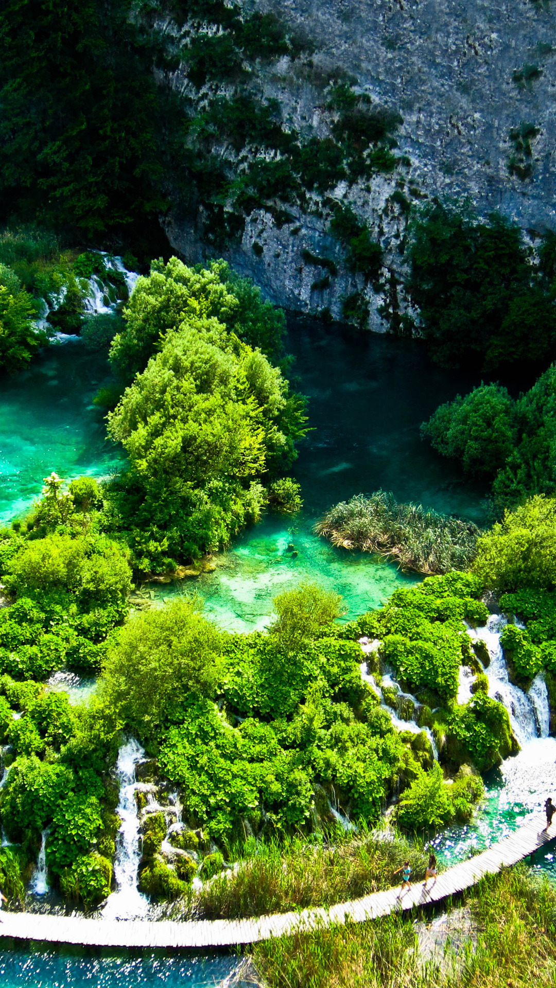 Beautiful Nature Wallpaper For Mobile plitvice lakes national park nature mobile wallpaper ...