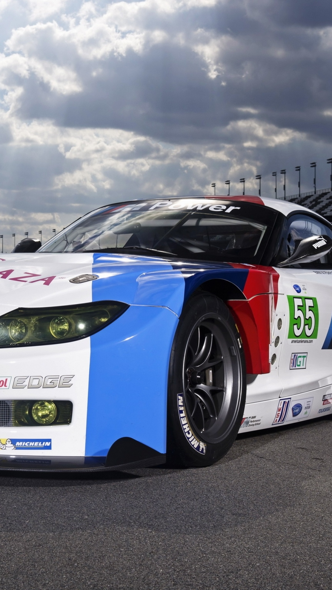 Car Wallpaper Bmw Z4 Gte Race Car 76853 1080x1920