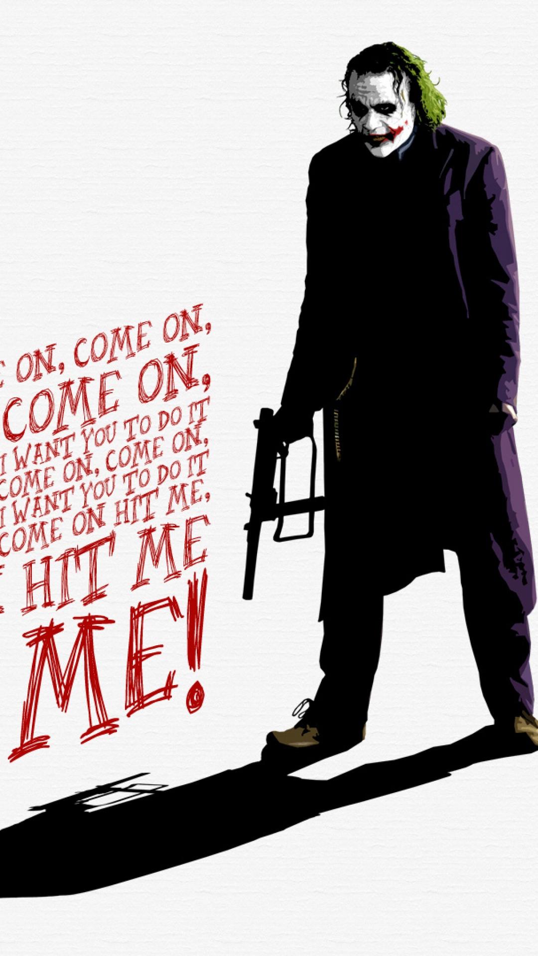 Joker Wallpaper Heath Ledger The Dark Knight 98496 1080x1920