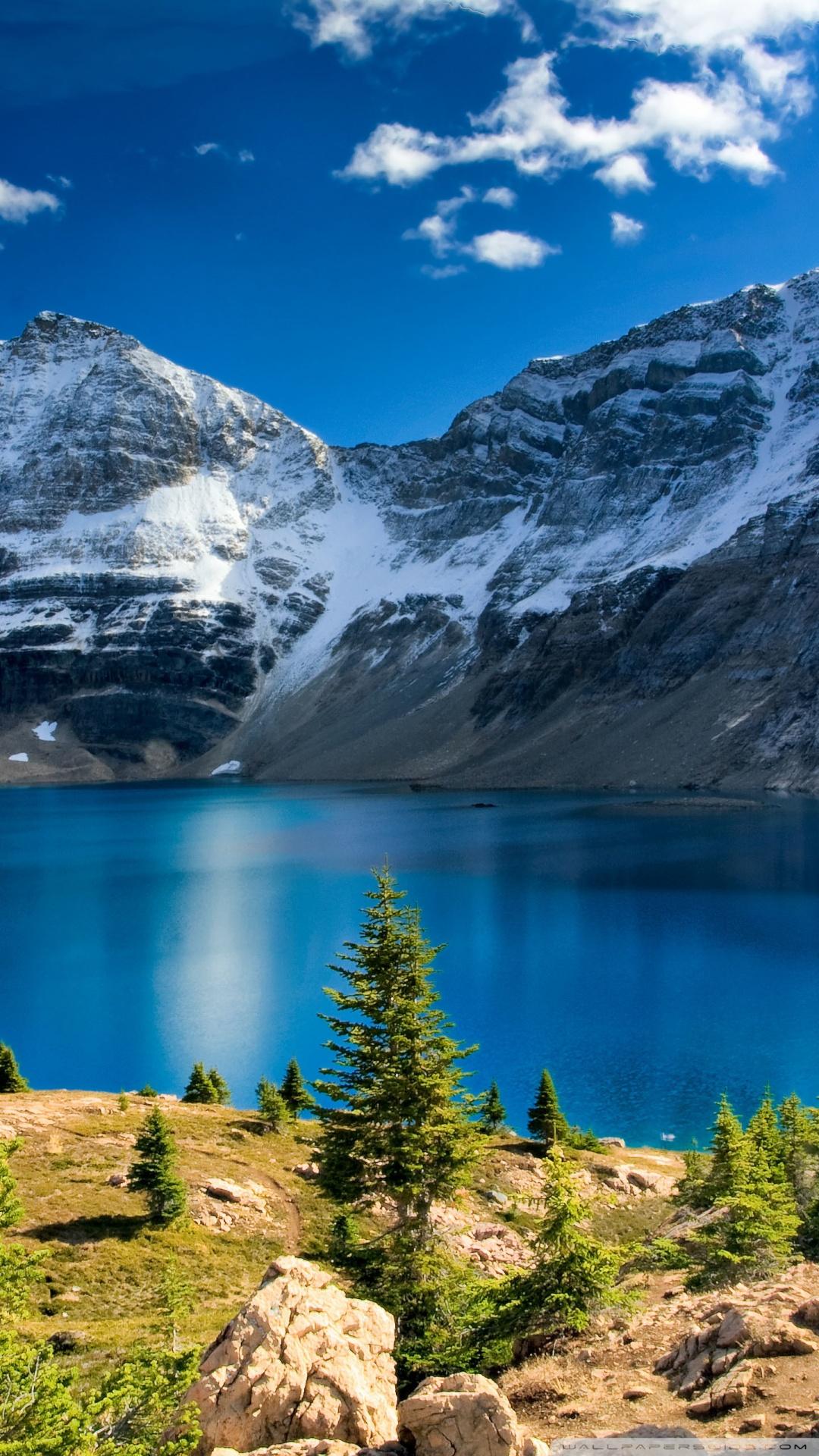 Landscape Wallpaper nature mountain landscape blue lake ...