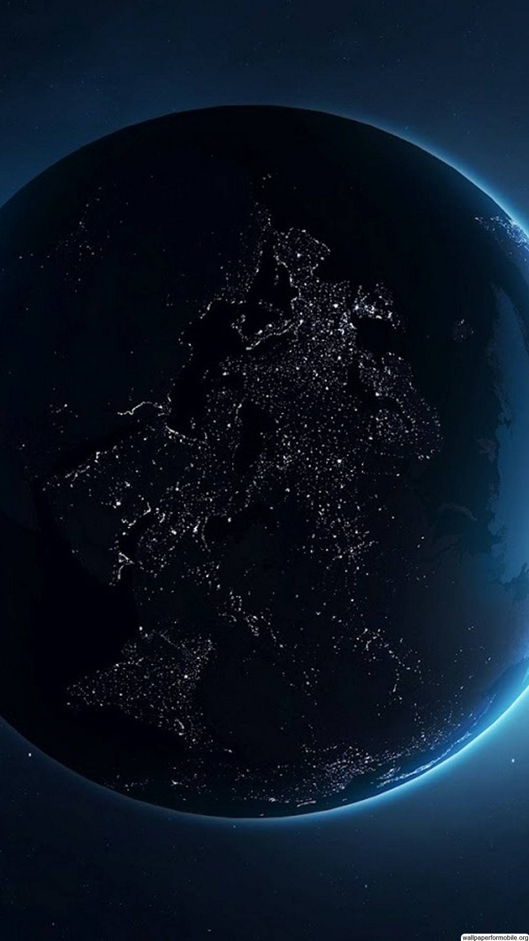 Night Wallpaper earth at night from space hd - Supportive Guru