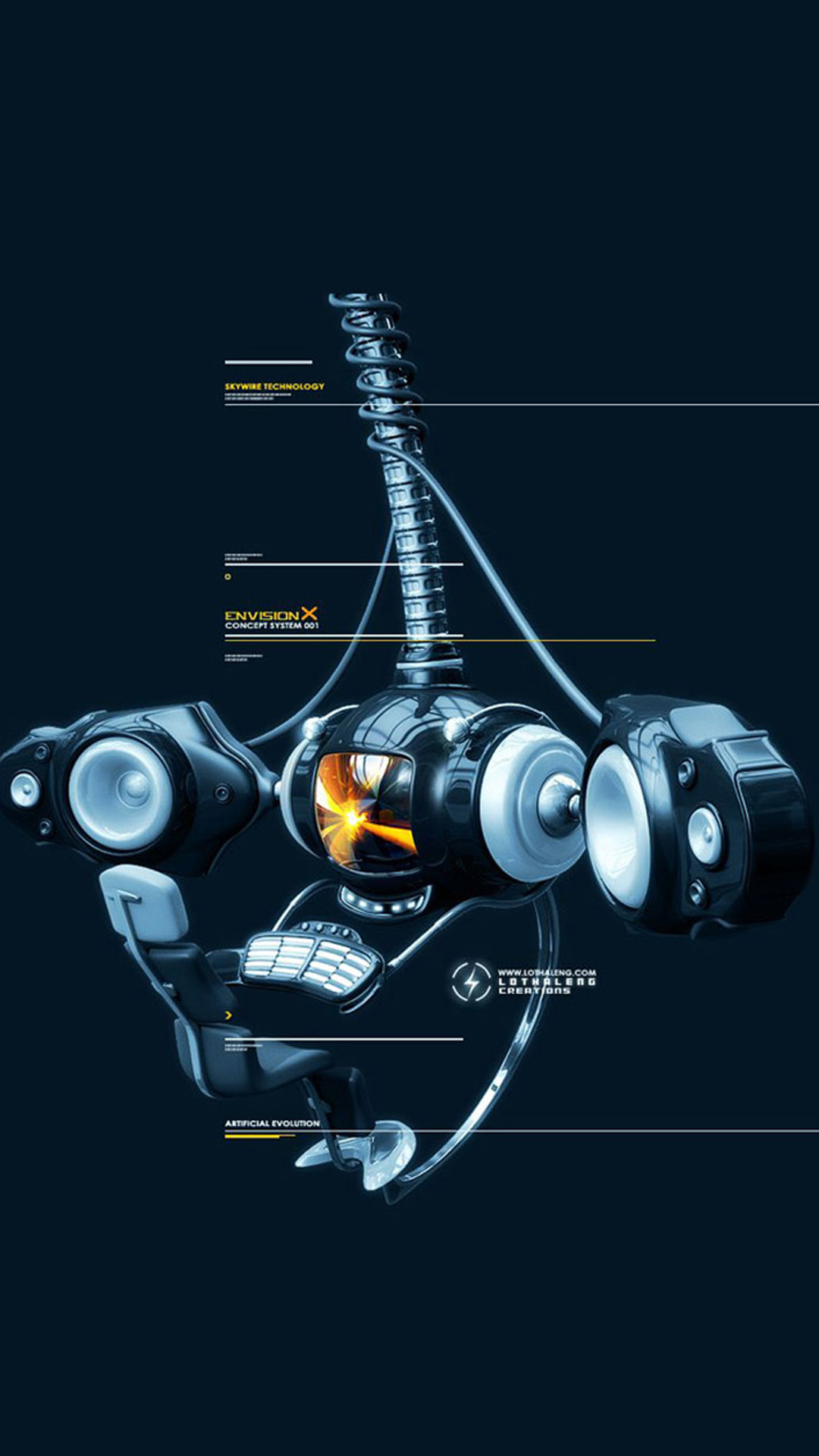 Technology Wallpaper Iphone 1080x1920 3D