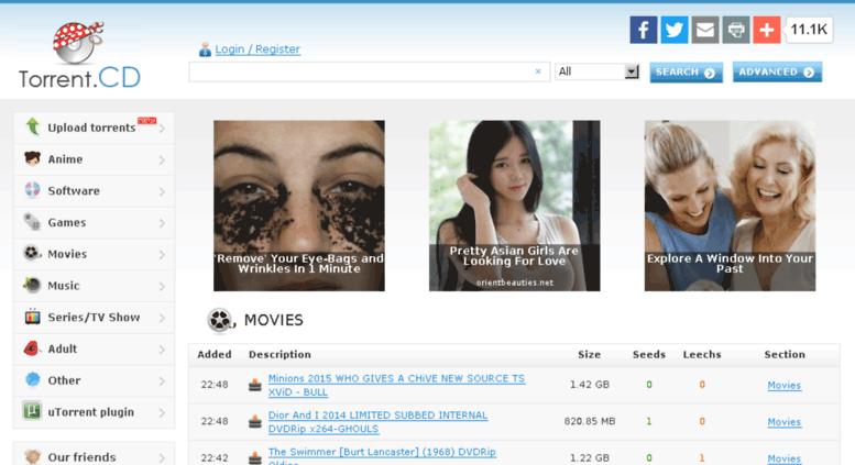 25 Torrent cd Alternatives - Similar Sites Like Torrent cd