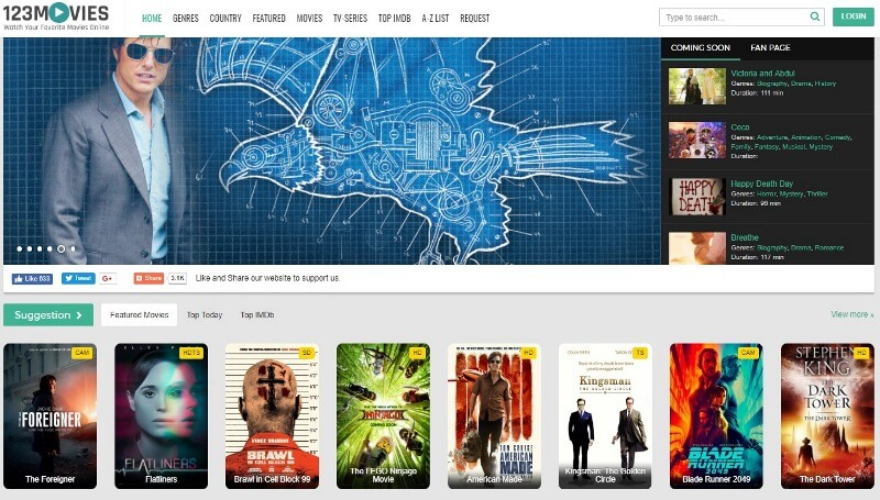 20 best sites to watch movies online without registration    signup