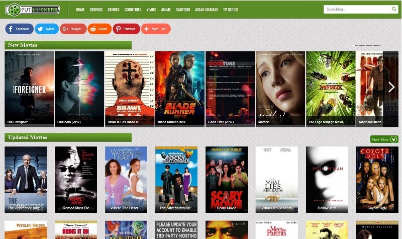 Watch movies online free streaming putlockers