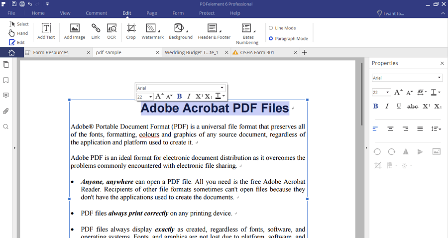 how to put a pdf into word without losing formating