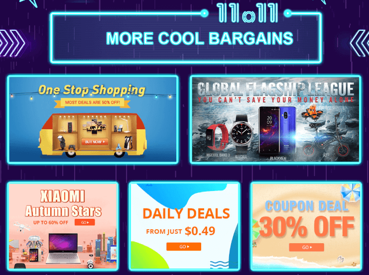 cool bargains