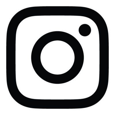 logo instagram white