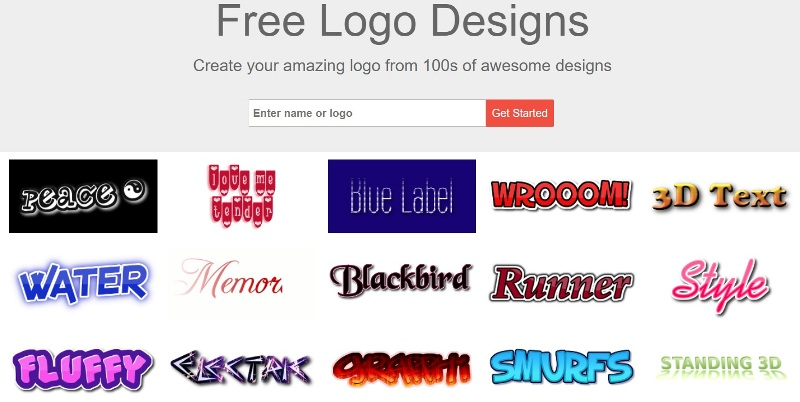 create professional logo for your brand easily with