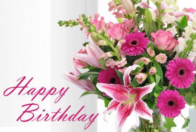 Flower Happy Birthday 20+ Beautiful Happy Birthday Flowers