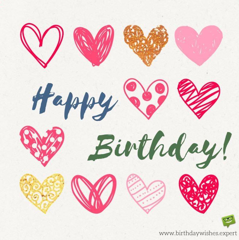 Happy Birthday Cute Hearts 1 Supportive Guru