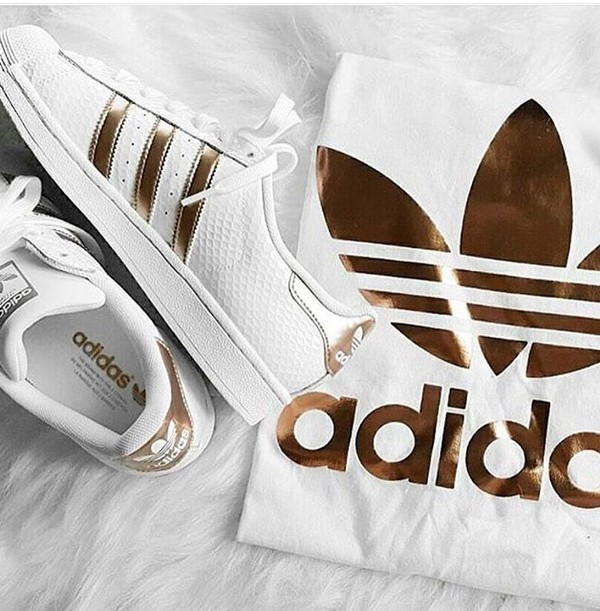 rose gold front adidas