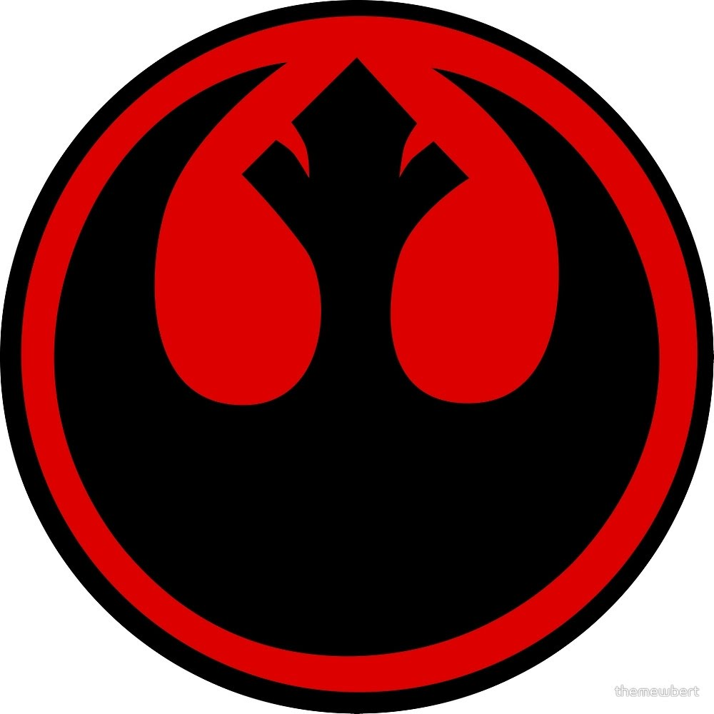 Rebel Insignia/Symbol Desktop Wallpaper by swmand4 on ... |Cool Rebellion Symbol