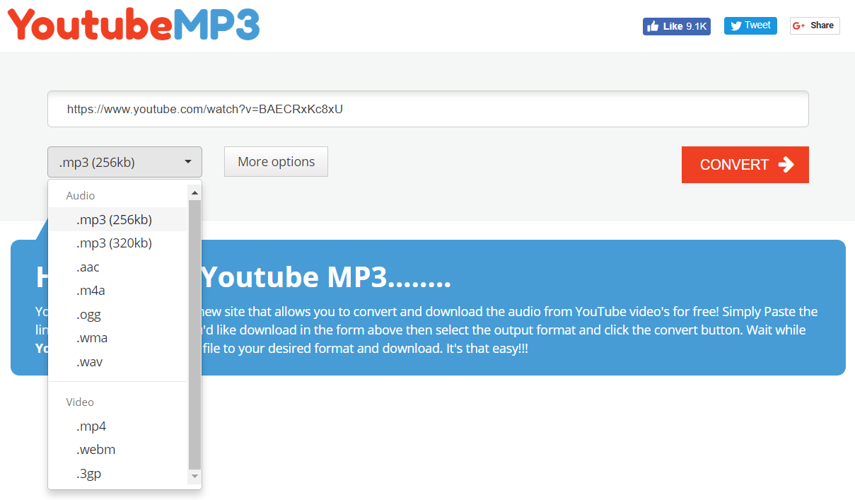 How to Download Songs & Music from YouTube in MP3 [2018]