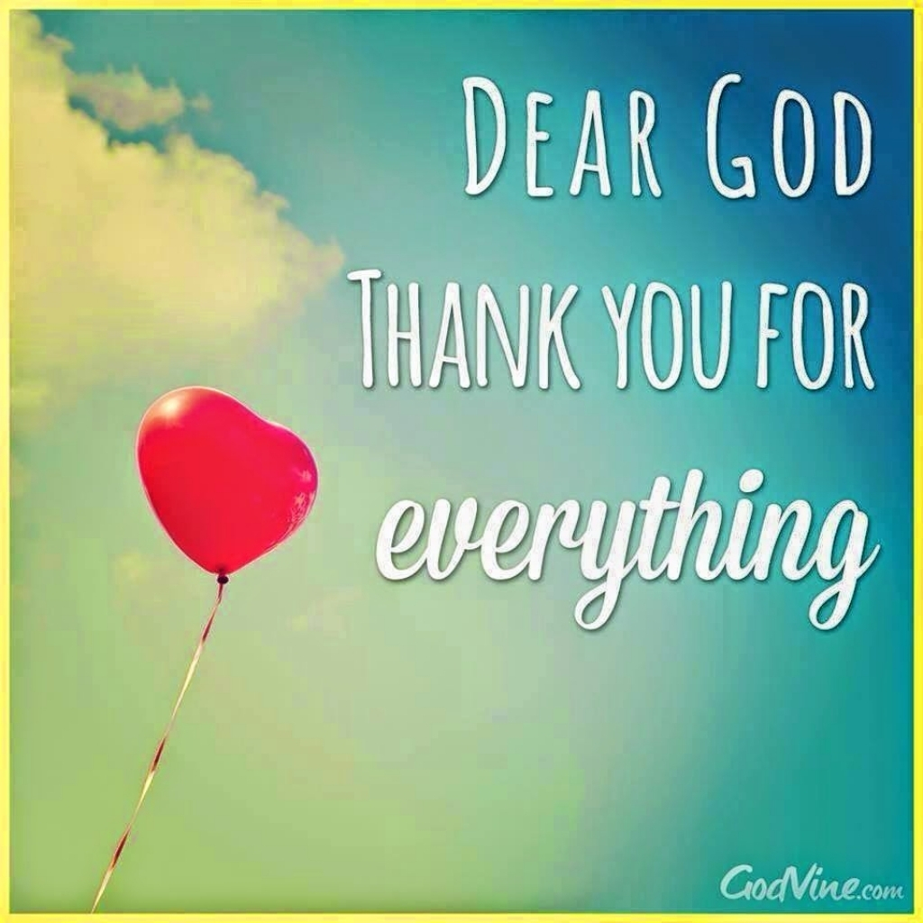 Thanking God For Life Quotes Thank You God Quote - Daily ...