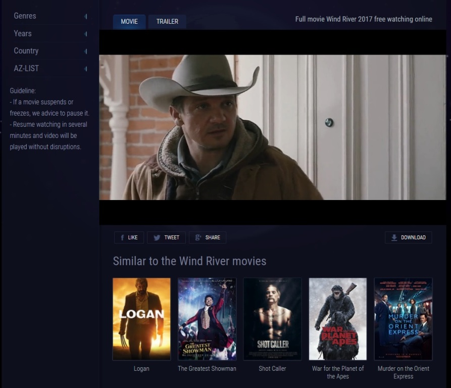 Download Free Movies Without Registration: Best Free Place To Watch & Download New