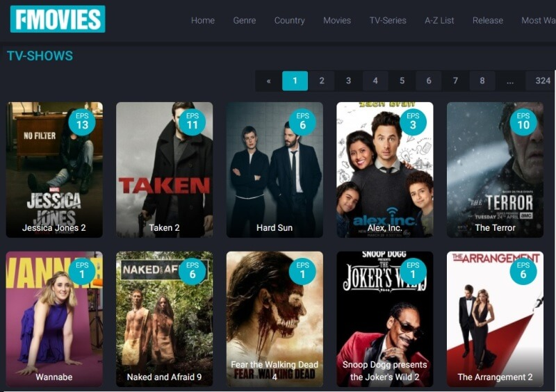 top 5 websites for free movies