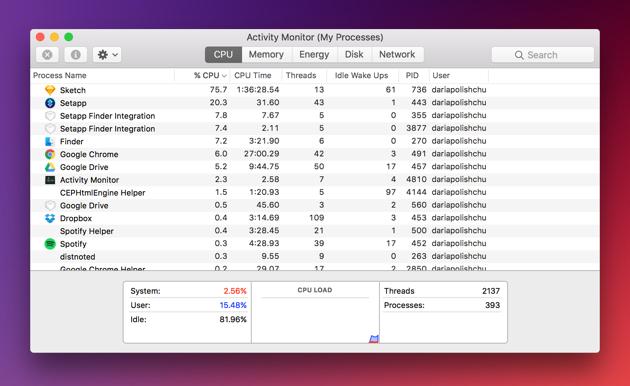 Mac Active Monitor