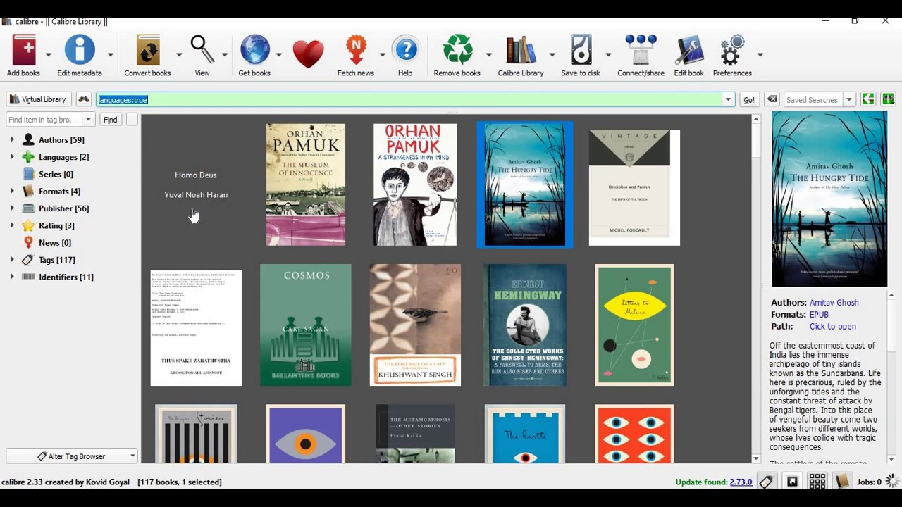 Calibre eBook Reader - Supportive Guru