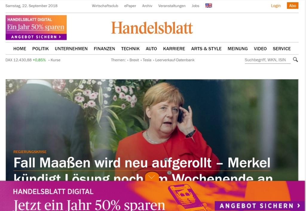 Handelsblatt News