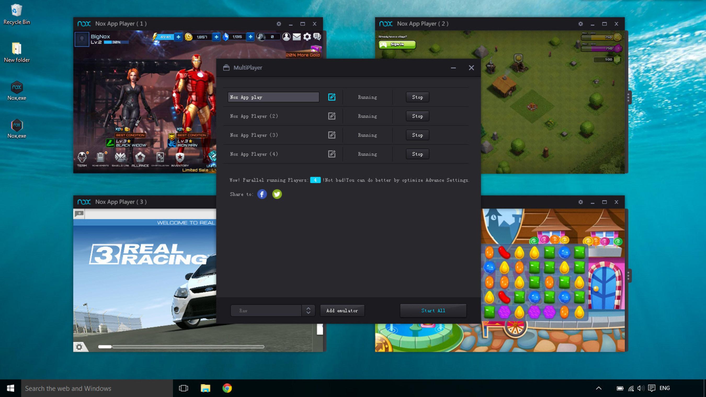 Nox App Player Android Emulator