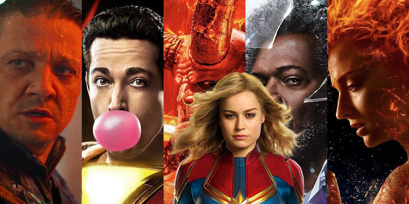 Superheroes Movies 2019