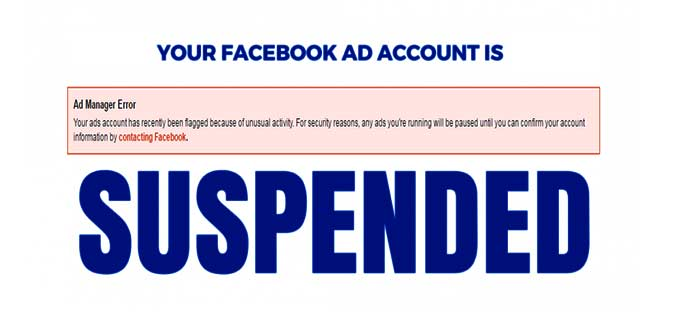 SOLVED] How to Reactivate Disabled Facebook Ad Account