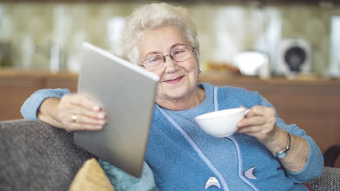 tech internet devices electronic helping aging help senior individuals adjust settings getty