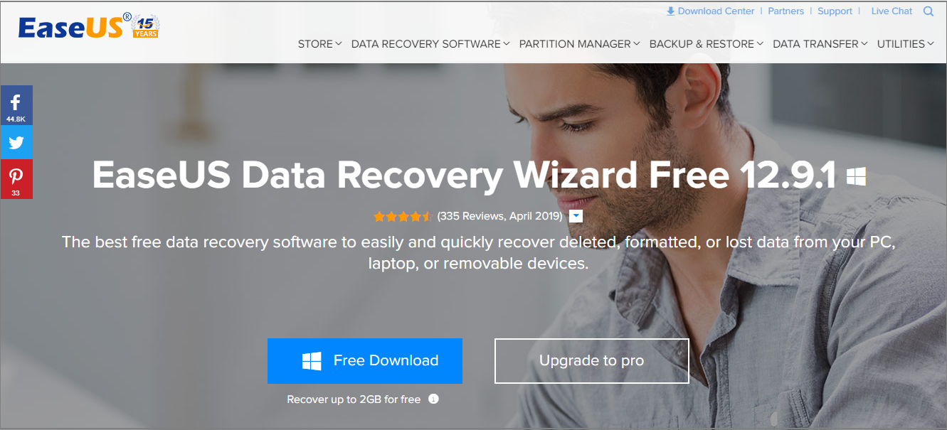 Recover Lost Data on Phone, SD Card, PC With EaseUS Data Recovery Wizard