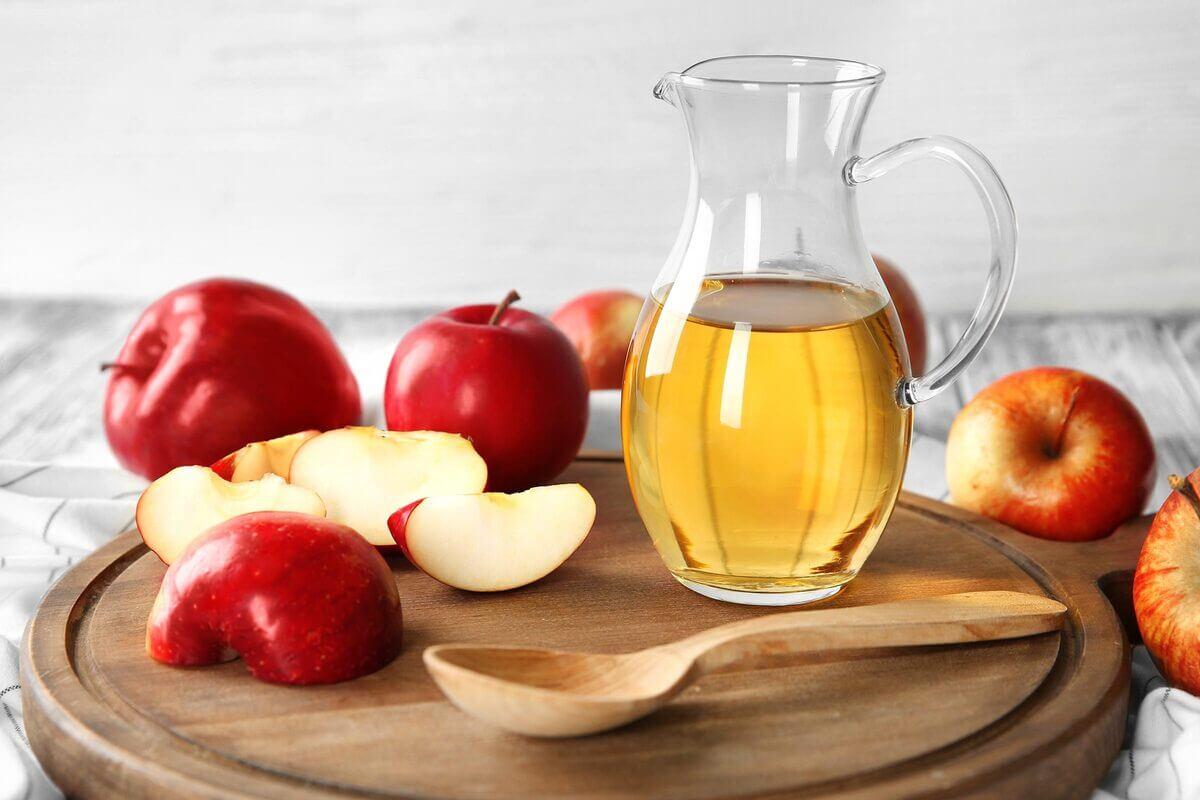 اضرار استخدام خل التفاح على الجلد