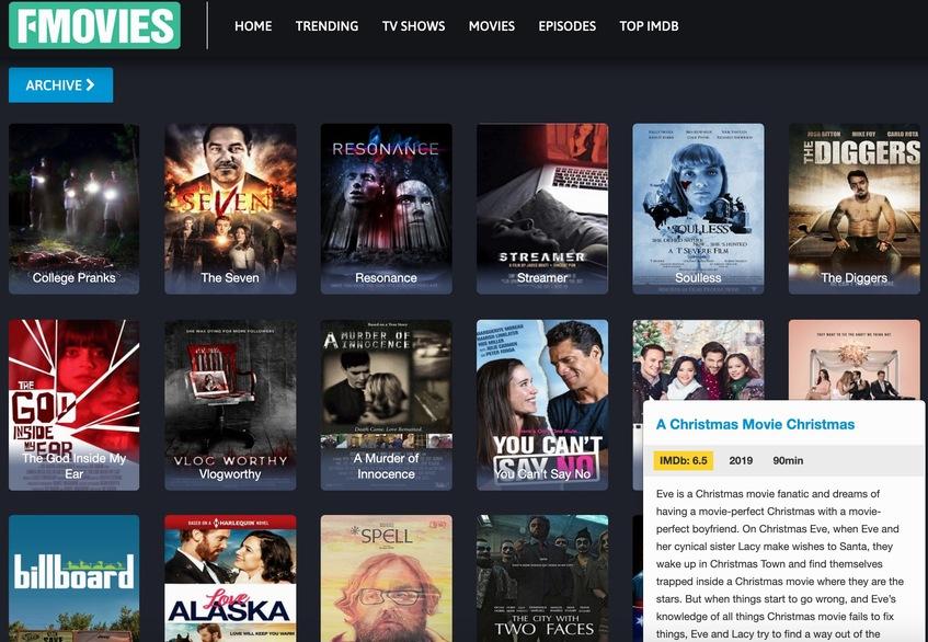 Fmovies - Putlocker Alternative Free Movie Site