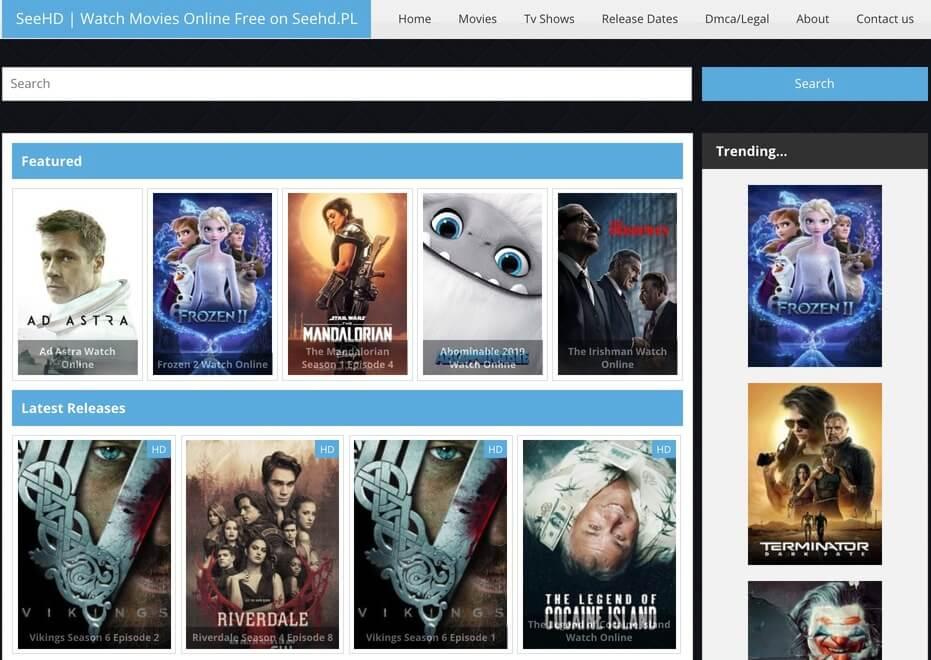 SeeHD - Putlocker Alternative Free Movie Site