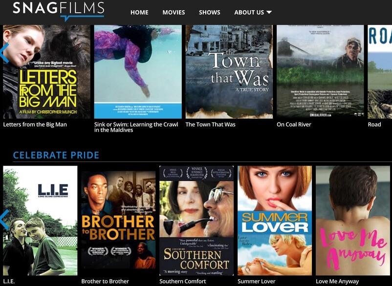 SnagFilms - Putlocker Alternative Free Movie Site