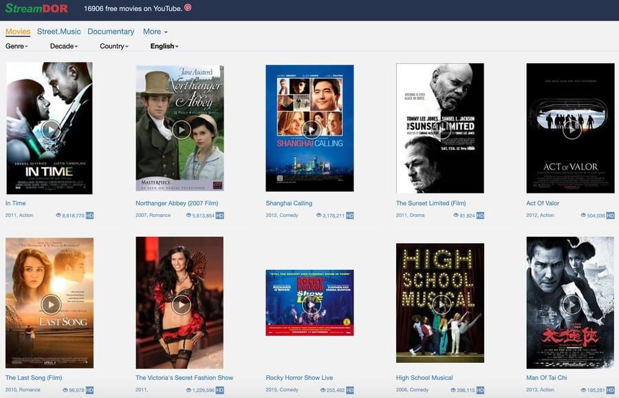 StreamDor - Putlocker Alternative Free Movie Site